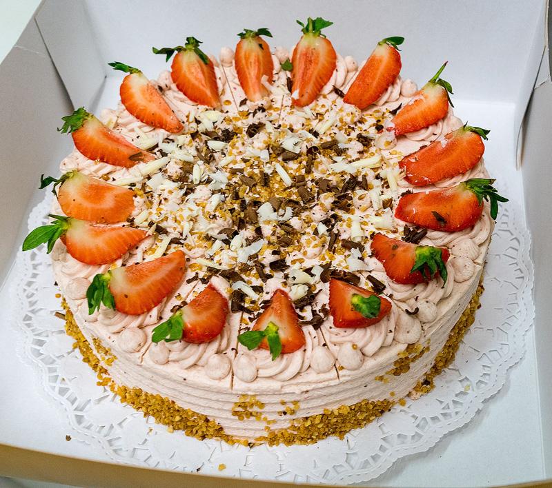 Hausgemachte Kuchen Und Torten Vom Konditor Landcafe Pension